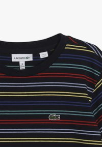 Lacoste - Print T-shirt - navy blue/multico - 4