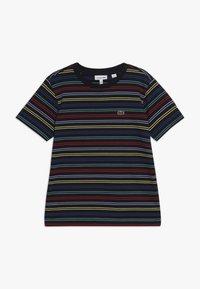 Lacoste - Print T-shirt - navy blue/multico - 0