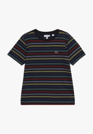 T-shirt med print - navy blue/multico
