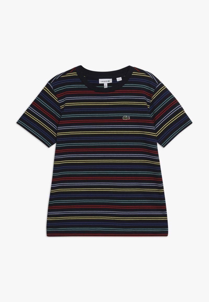 Lacoste - Print T-shirt - navy blue/multico