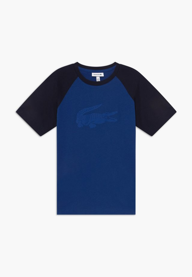 T-Shirt print - ionian/navy blue
