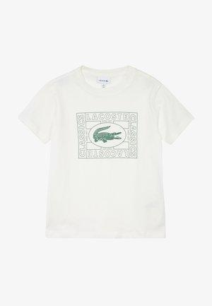 TEE - T-shirt imprimé - farine