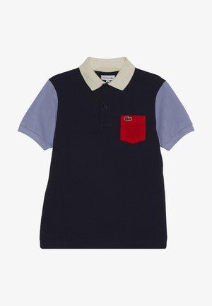 Polo shirt - navy blue/purpy/corrida/lapland