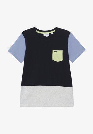 ROLLIS - T-shirt con stampa - navy blue/grey