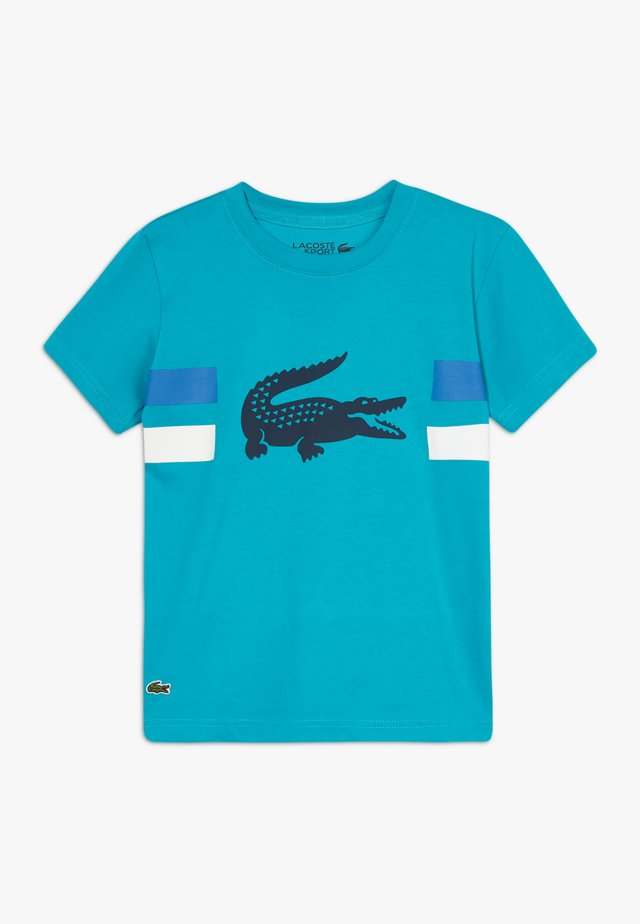 ROLLIS - T-Shirt print - cuba/white obscurity/navy blue