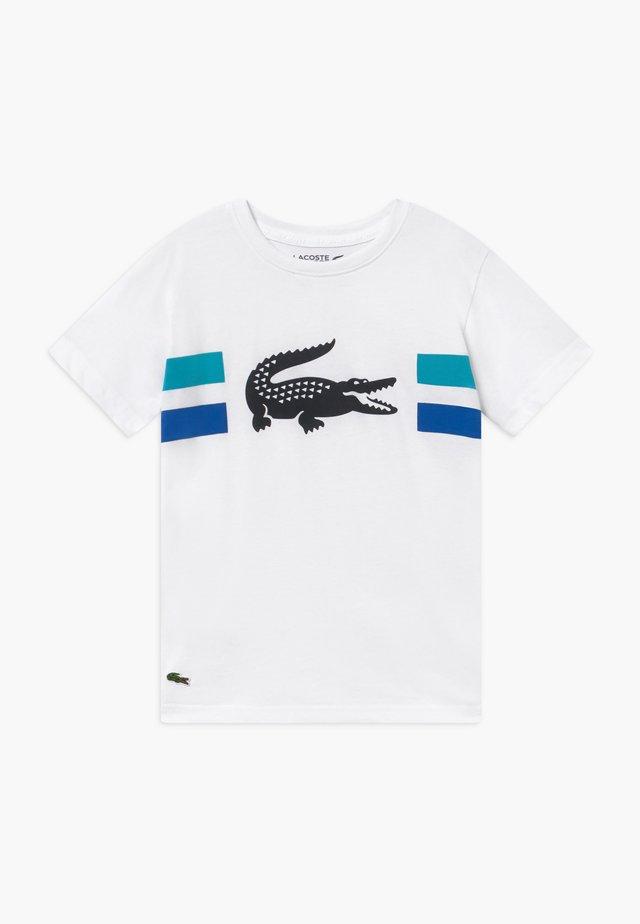 ROLLIS - T-Shirt print - white/obscurity-cuba-navy blue
