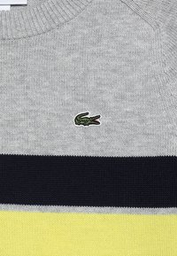Lacoste - Sweter - argent chine/multicolor - 4