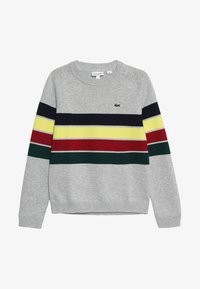 Lacoste - Sweter - argent chine/multicolor - 3