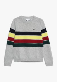 Lacoste - Sweter - argent chine/multicolor - 0