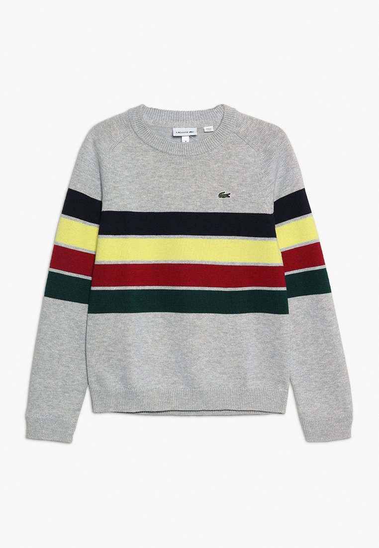 Lacoste - Sweter - argent chine/multicolor