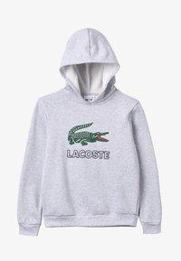 Lacoste - BOY LOGO HOODIE - Mikina skapucí - argent chine - 3