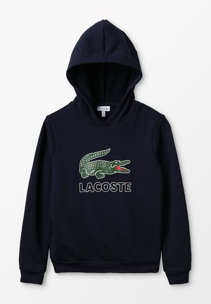 BOY LOGO HOODIE - Bluza z kapturem - marine