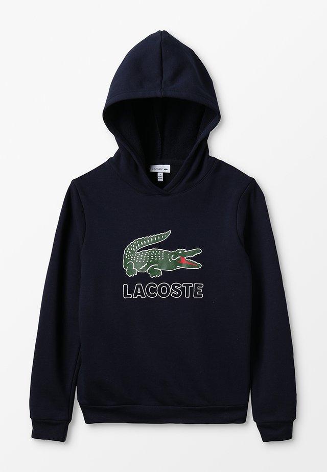 BOY LOGO HOODIE - Hættetrøjer - marine