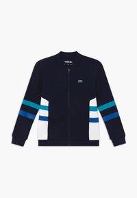 Lacoste - Mikina na zip - navy blue - 0
