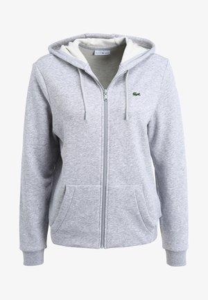 WOMEN TENNIS - veste en sweat zippée - argent chine