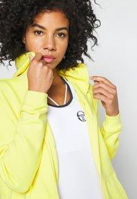 Lacoste Sport - WOMEN TENNIS - Felpa aperta - lemon/lemon - 3