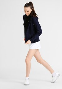 Lacoste Sport - WOMEN TENNIS - Zip-up hoodie - navy blue - 1