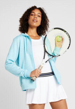 WOMEN TENNIS - Bluza rozpinana - light blue