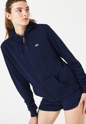 WOMEN TENNIS - veste en sweat zippée - navy blue