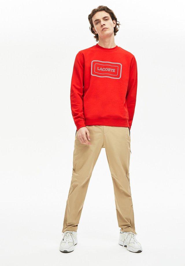 Sweatshirt - rot