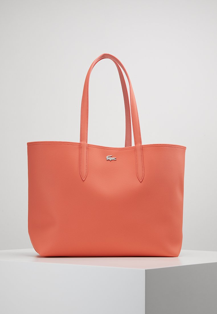 Lacoste - REVERSIBLE  - Shopping bags - coral lobster bisque