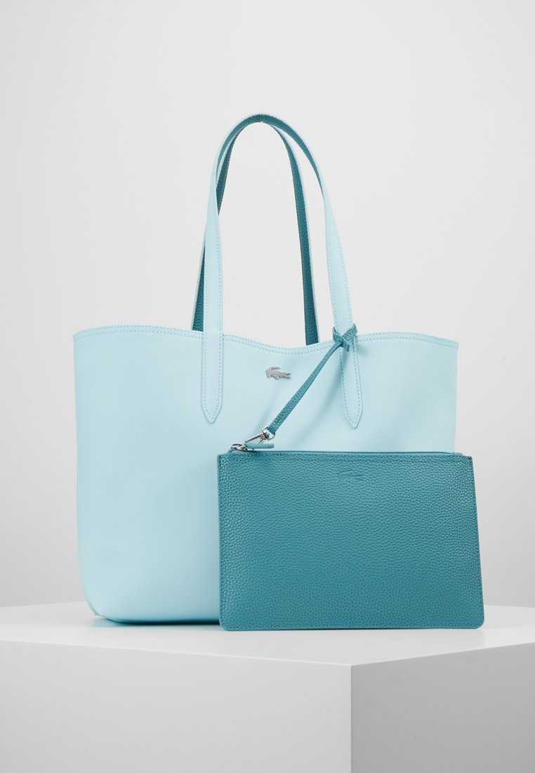 Lacoste - REVERSIBLE  - Shopping bags - clearwater brittany blue