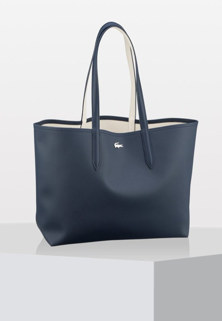 Lacoste - NF2142AA     REVERSIBLE - Shopping Bag - dark sapphire