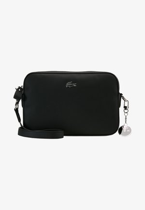SQUARE CROSSOVER BAG - Umhängetasche - black