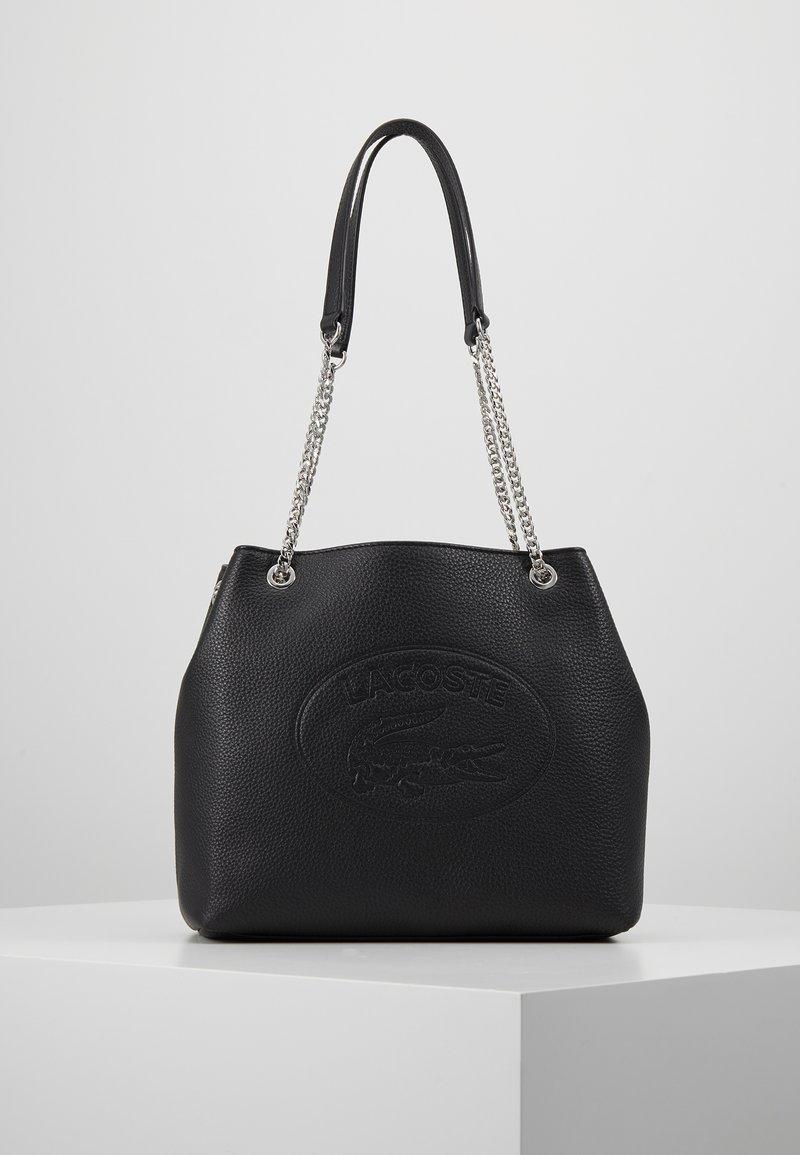 Lacoste - BUCKET - Handbag - black