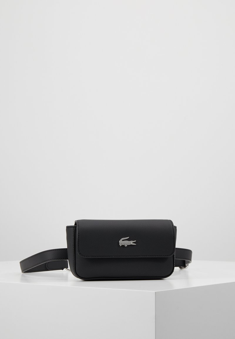 Lacoste - FANNY PACK - Bum bag - black