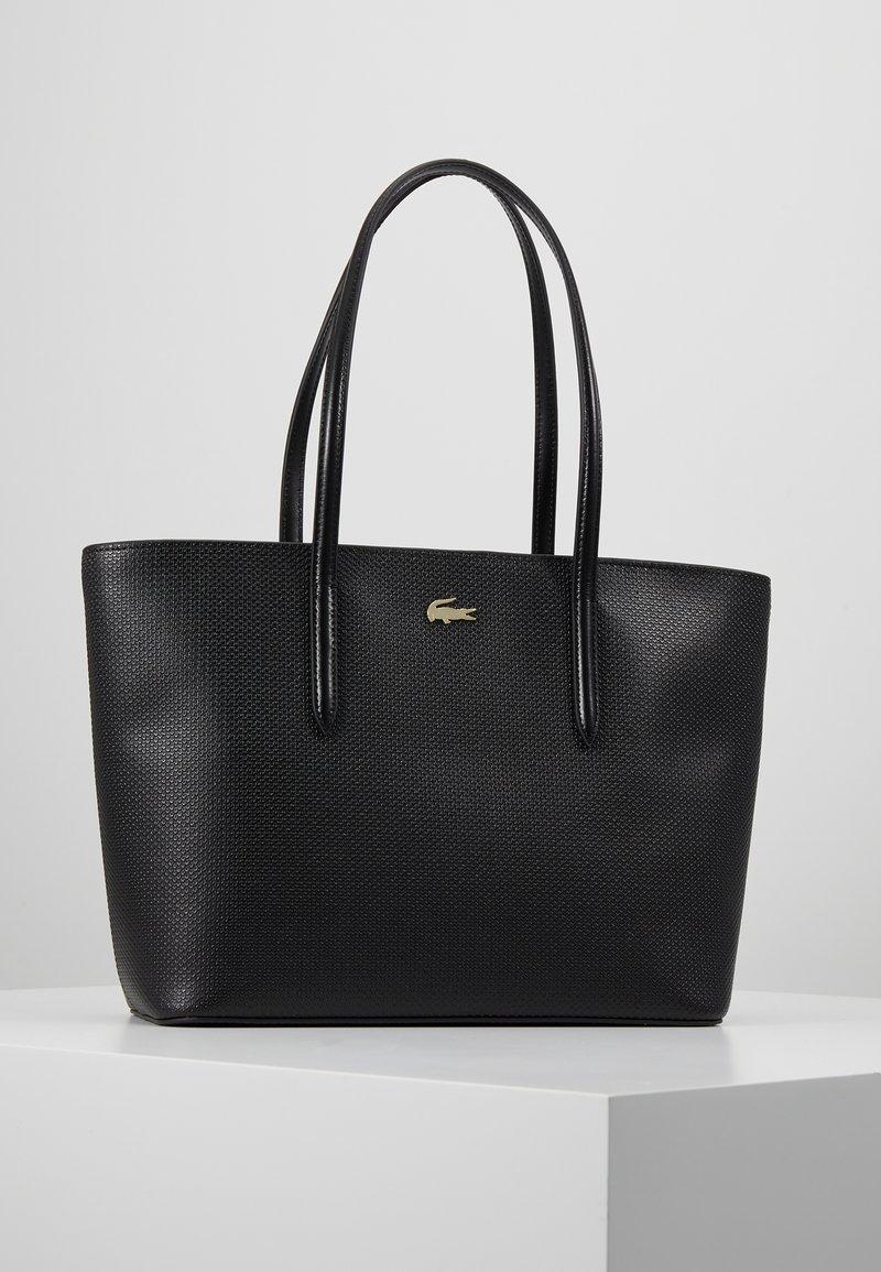 Lacoste - FEMME PREMIUM  - Shopping Bag - noir