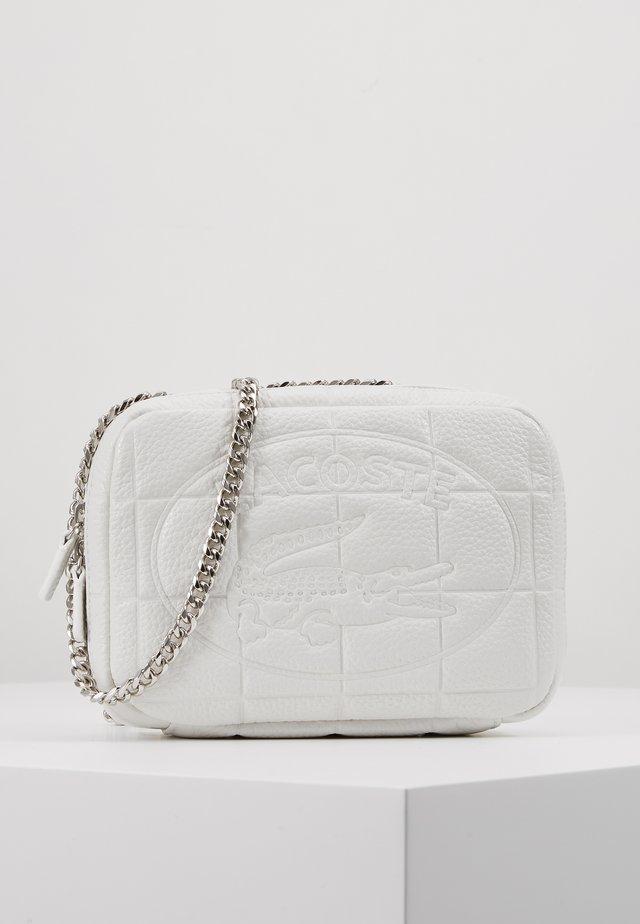 Across body bag - bright white
