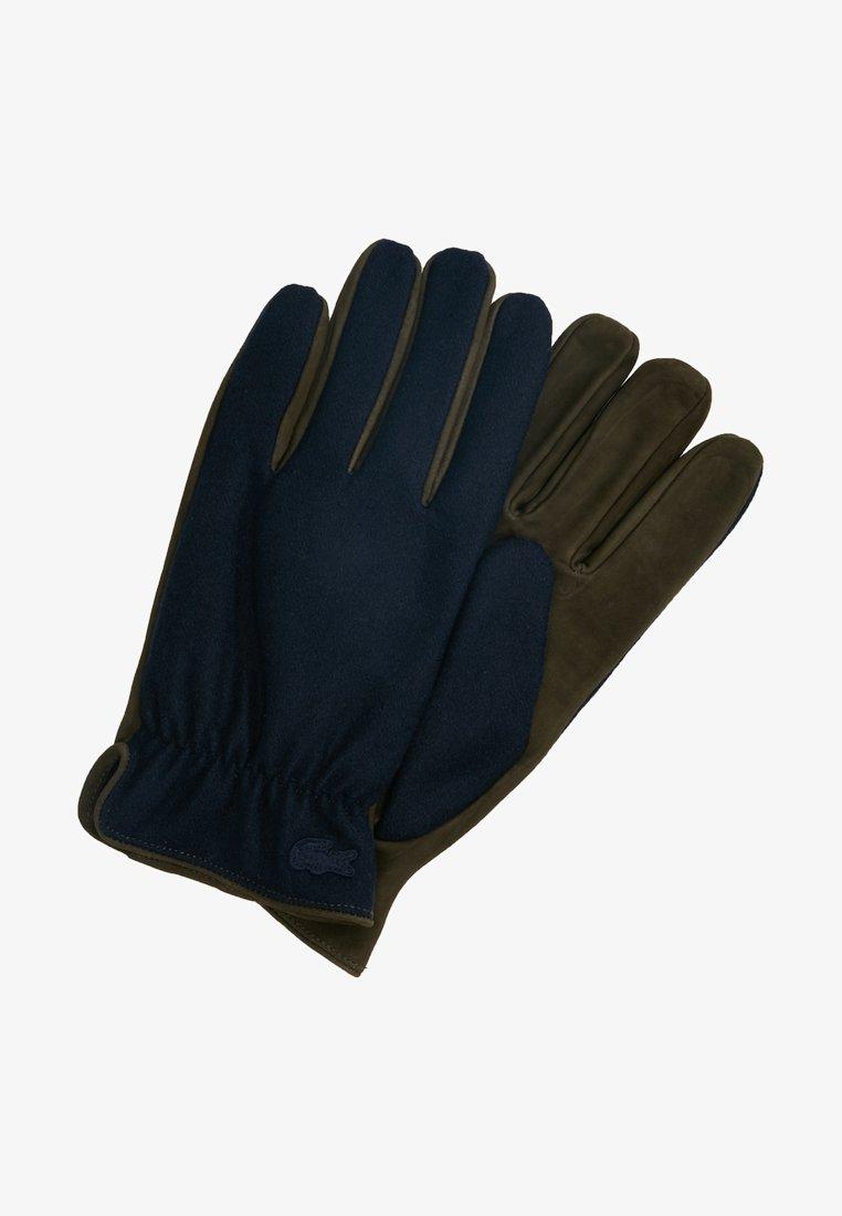 Lacoste - Gloves - baobab/navy blue