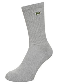 Lacoste - 3 PACK - Calcetines - argent chine/black