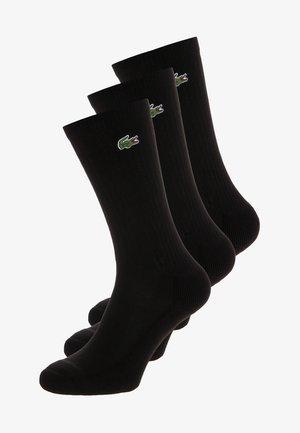 3 PACK - Chaussettes - noir/noir/noir