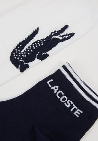 Lacoste - 2 PACK - Sokken - marine/blanc - 2