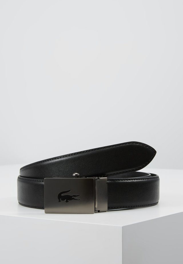 CURVED STITCHED EDGES - Riem - black