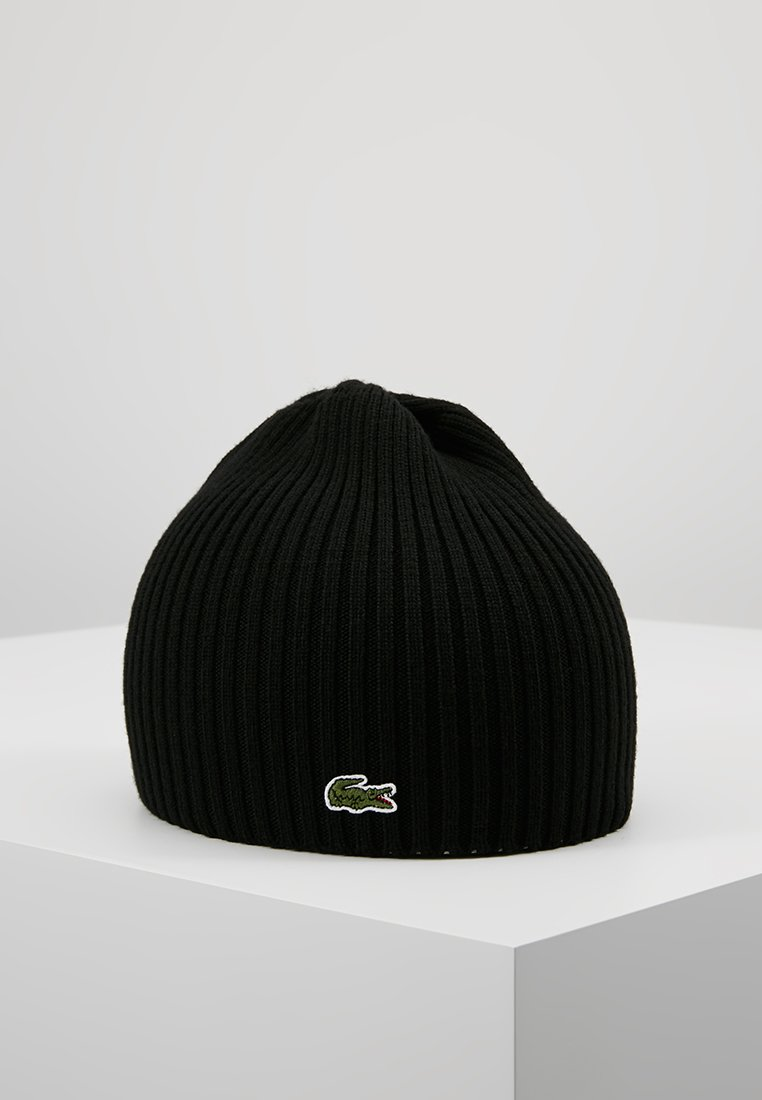 Lacoste - Bonnet - black