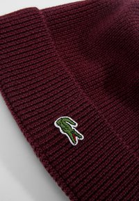 Lacoste - Bonnet - bordeaux - 3