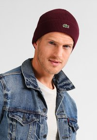 Lacoste - Bonnet - bordeaux - 1