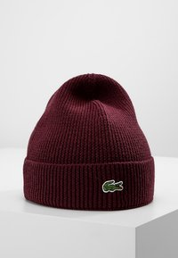 Lacoste - Bonnet - bordeaux - 0