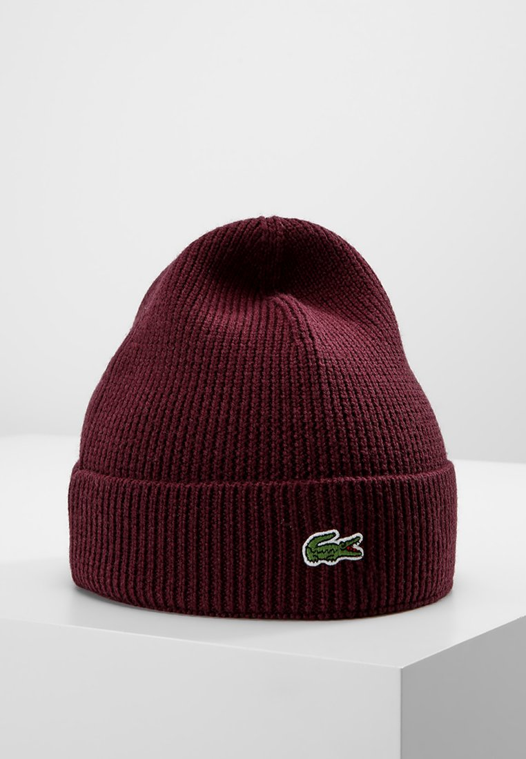 Lacoste - Bonnet - bordeaux
