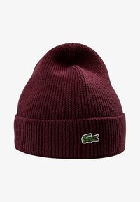 Lacoste - Bonnet - bordeaux - 4