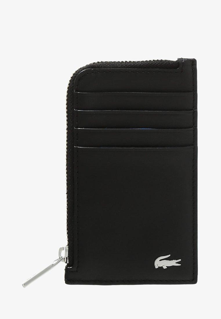 Lacoste - ZIP CREDIT CARD HOLDER - Punge - black