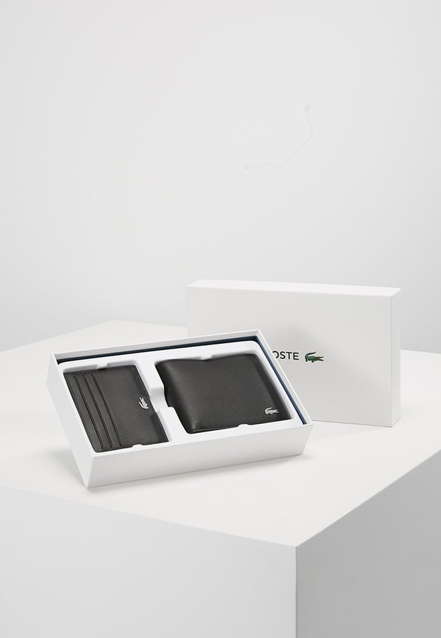 BILLFOLD COIN BOX SET - Plånbok - black