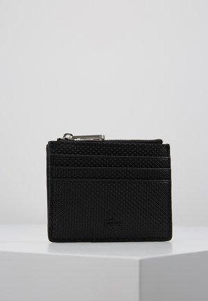 ZIP CREDIT CARD HOLDER - Lommebok - black