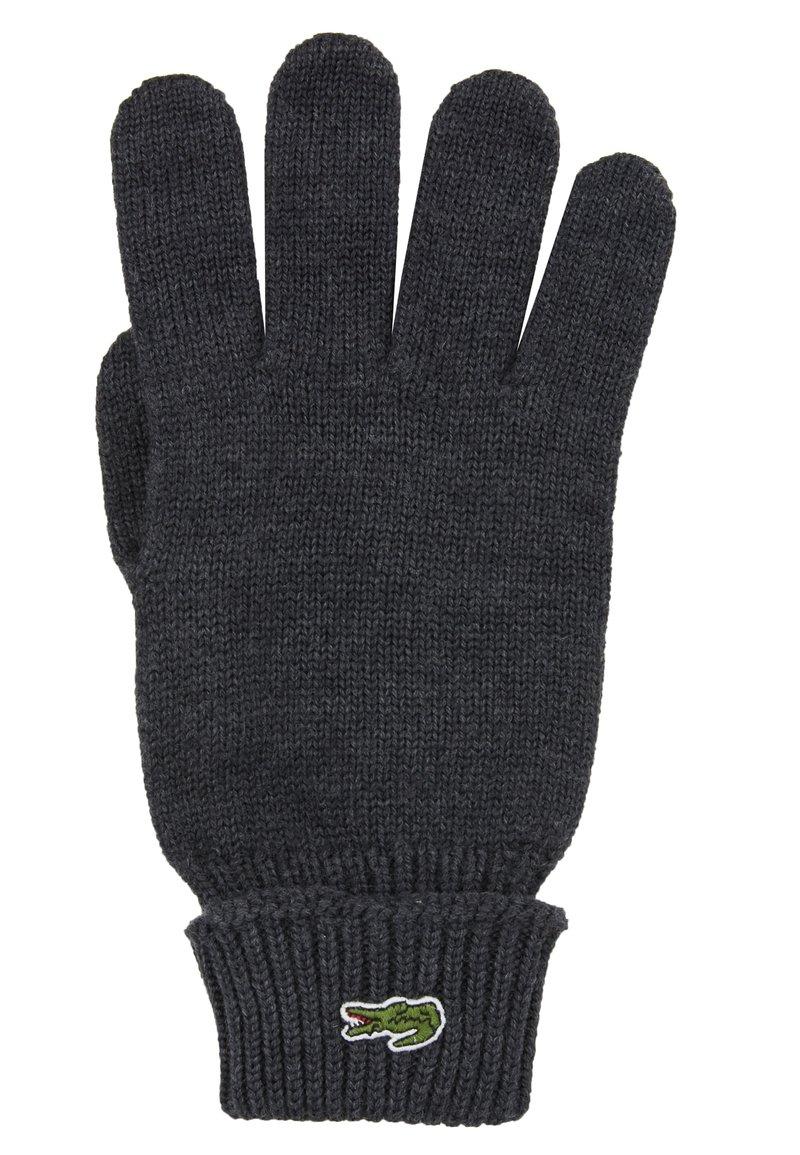 Lacoste - Rękawiczki pięciopalcowe - moha chine