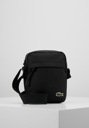 VERTICAL CAMERA BAG - Across body bag - black
