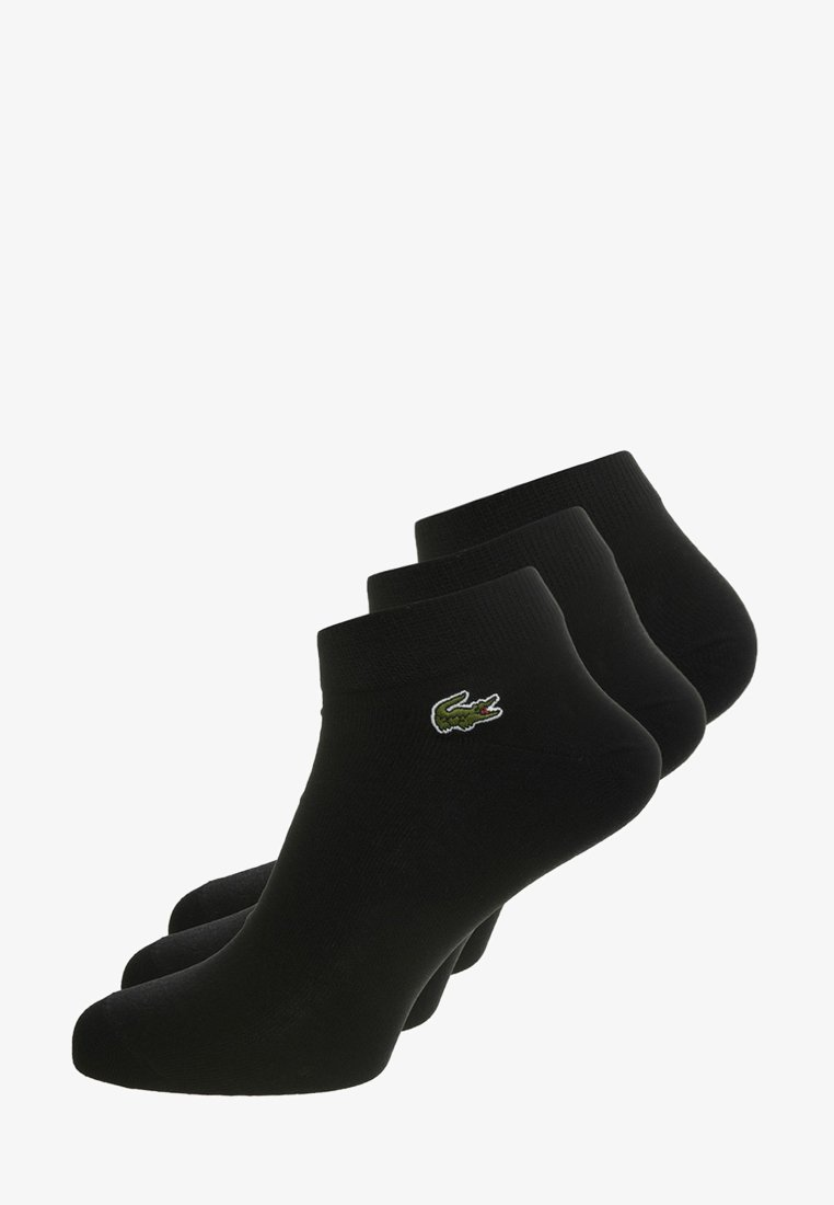 Lacoste - 3 PACK - Skarpety - noir