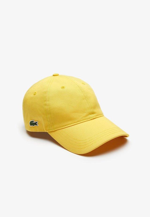 Cap - jaune